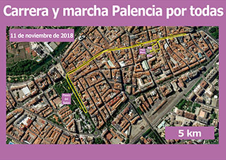 Recorrido Palencia por todas